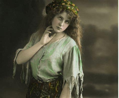 pretty gypsy lady image  graphics fairy