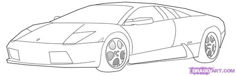 car lamborghini drawing free coloring pages of how to draw a lamborghini