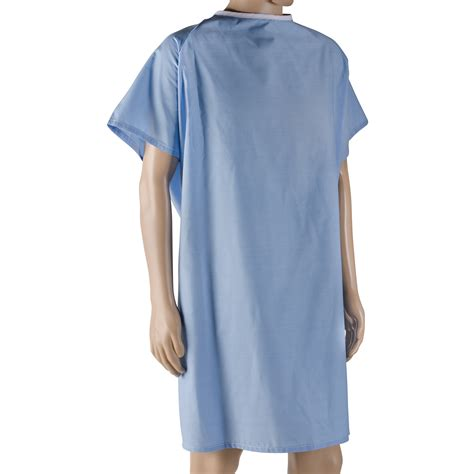comfortable hospital gowns 3 off dmi hospital gown easy access patient gown blue