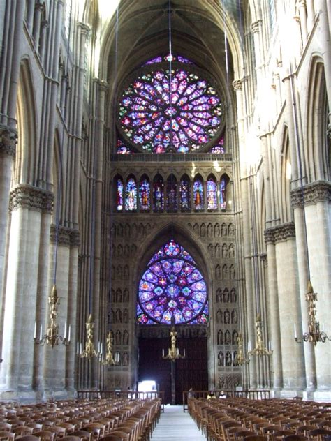Notre Dame Cathedral Interior by Notre Dame De Reims Cathedral The Interior Reims