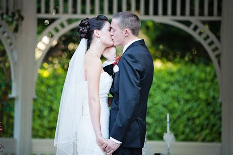 Dene and Dylan's Romantic Red Disneyland Wedding   This Fairy Tale Life