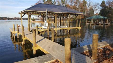 boat house fox lake lake norman dock builders fox docks premier dock