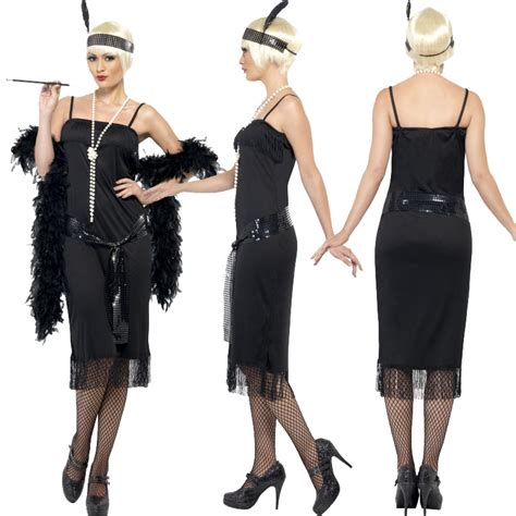 attire for women mid 30s new ladies adult fringe flapper jazz 20s 30s fancy dress