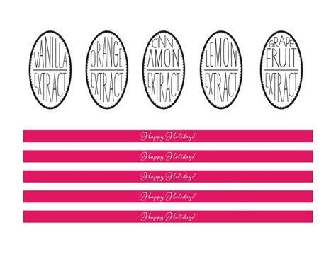 printable extract labels 17 best images about labels on pinterest fonts food