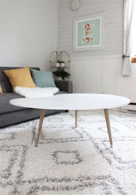 mid century modern coffee table diy diy mid century modern coffee table under 50 wonder
