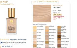 estee lauder wear foundation colors estee lauder wear foundation in 2w1 i think
