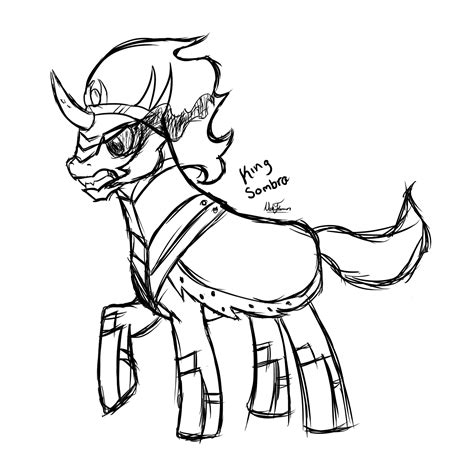 my little pony king sombra coloring pages king sombra rough sketch nickmoble 169 2018 nov 10 2012