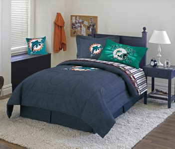 Bed Linens Miami Comforter Miami Dolphins Denim Comforter Sheet Set Combo