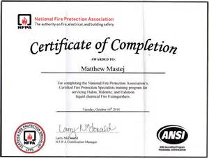 Extinguisher Certificate Template by Pin Free Extinguisher Certificate On