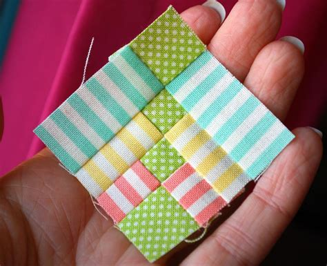Miniature Quilt Blocks by Things To Quilt On Cathedral Windows