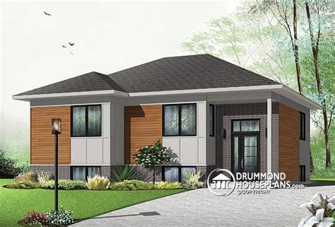 house plan of the week house plan of the week quot affordable contemporary bungalow quot drummond house plans blog