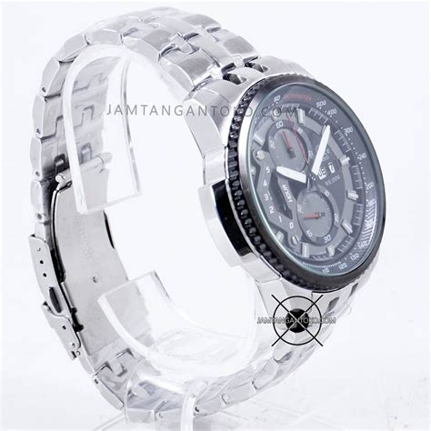 Jam Casio Edifice Ef 303 Silver Plat Hitam Ori Bm gambar jam tangan wanita merk alexandre christie jualan