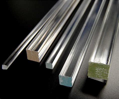 Acrylic Rod square extruded acrylic bar tap plastics