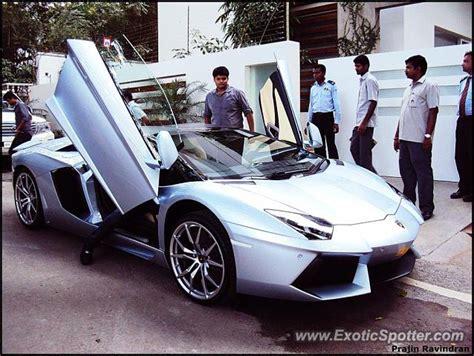 Lamborghini India Website Lamborghini Aventador Spotted In Bangalore India On 08 14