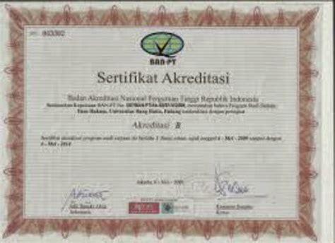 akreditasi program studi ilmu hukum jenjang s1 dengan