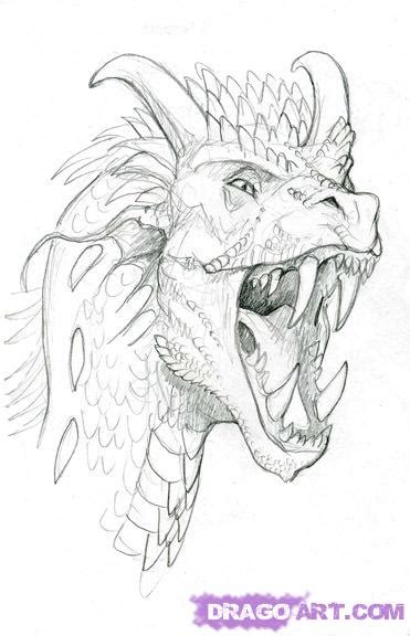 drawn from the archive how to draw dragons from wings of fire archives pencil drawing collection