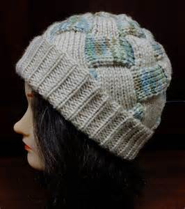 machine knit hat patterns diana sullivan s entrelac machine knitted hat