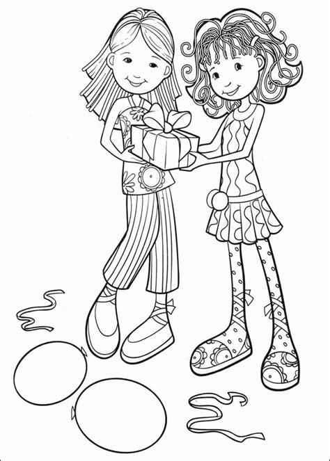 groovy girls coloring pages coloringpagesabc com