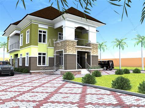 5 bedroom duplex building plan in nigeria