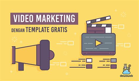 website video template gratis  blog dewaweb