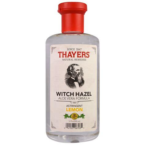 thayers witch hazel aloe vera formula astringent lemon 12 fl oz 355 ml iherb com