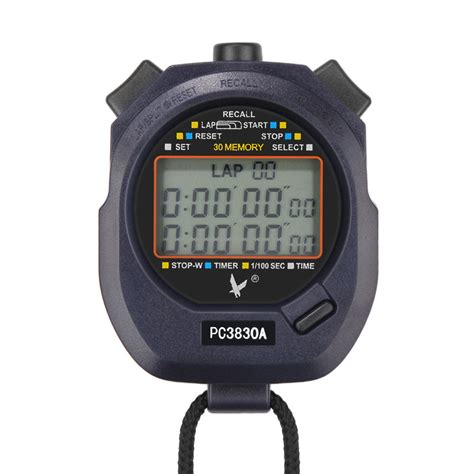 digital running timer chronograph professional sports