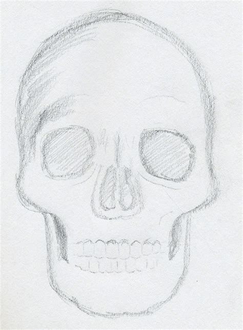 Sketches For 9 Year Olds by The Gallery For Gt Cool Drawings Easy Skull