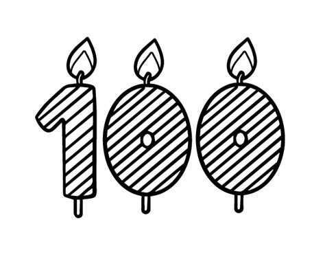 100 Yera Old Women Coloring Sheet | 100 years old coloring page coloringcrew com