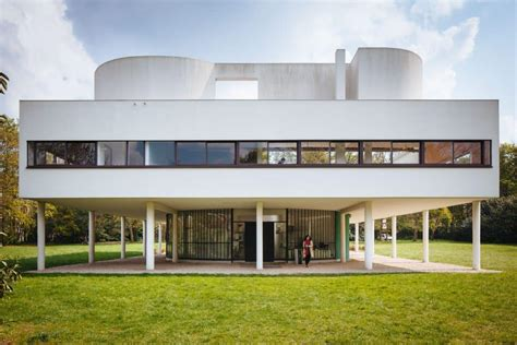 Home Design For Ground Floor by Le Corbusier S Five Points At The Villa Savoye Mid