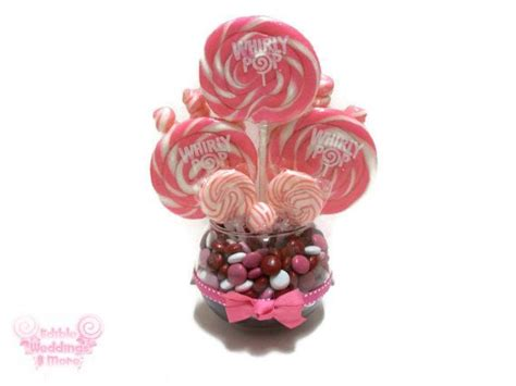 Lollipop Centerpieces For Baby Shower by Small Pink Lollipop Centerpiece Wedding Centerpiece Baby