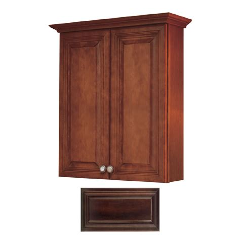 Shop Insignia Ridgefield Storage Cabinet Common 24 In Lowes Bathroom Storage