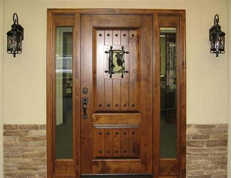 country style exterior doors