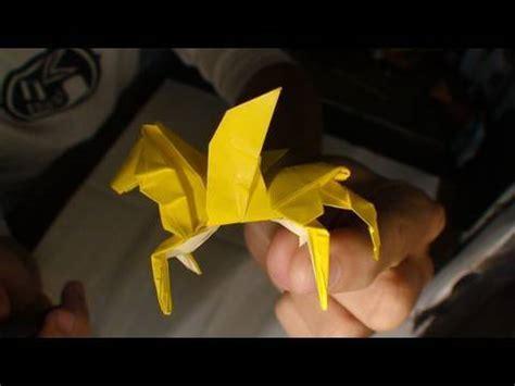tutorial origami pegasus origami pegasus instructions anibal voyer youtube