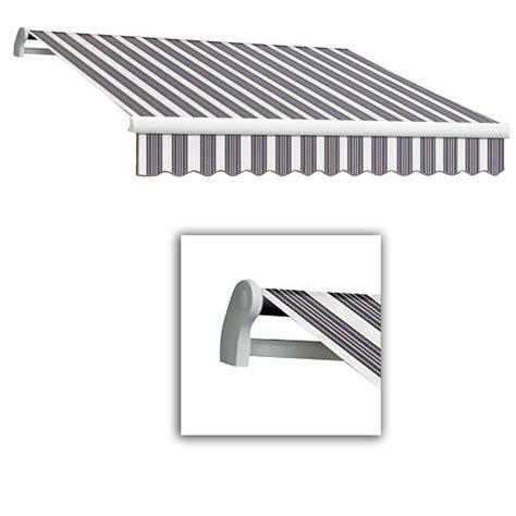 awntech retractable awnings reviews awntech 14 ft maui lx left motor retractable acrylic