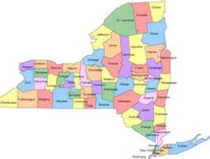 County Map Of New York State by New York State Map Of Counties