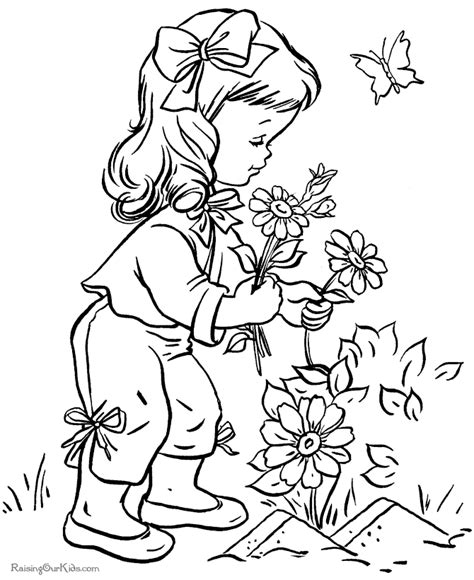 printable little flowers flower printables sheets for kids 020