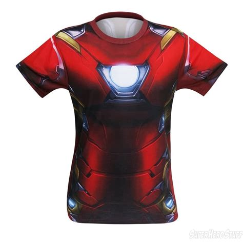 T Shirt Ironman War Iron Civil War Sublimated Costume T Shirt