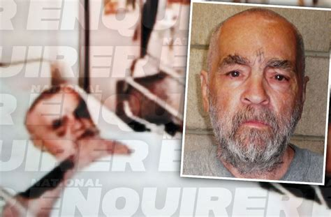 crazed charles manson attacked doctors   deathbed