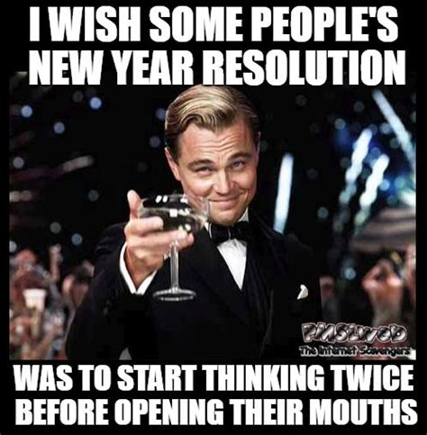 New Years Resolution Meme - best 25 funny new years memes ideas on pinterest new
