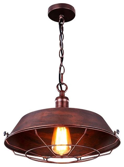 Industrial Style Pendant Lighting Lb Lighting Industrial Style Pendant L View In Your Room Houzz