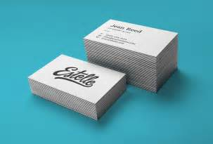 letterpress business card mockup stack letterpress business cards mockup graphicburger