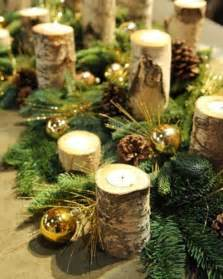 winterliche dekoration d 233 coration table pour no 235 l le th 232 me sur l hiver 224 la maison