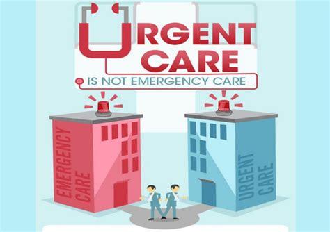 what is a level 4 emergency room visit urgent care vs er infographic modernlifetimes