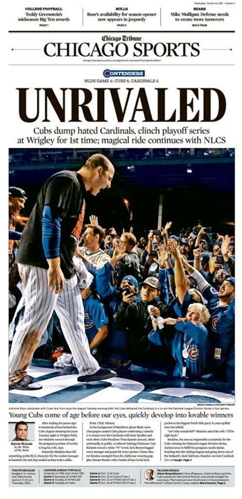 chicago tribune sports section 25 best ideas about october 14 on pinterest film wiki