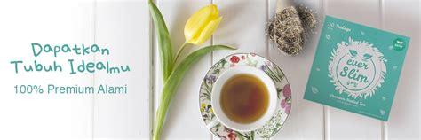 Everslim Slimming Tea teh pelangsing alami terbaik yang uh teh slimming