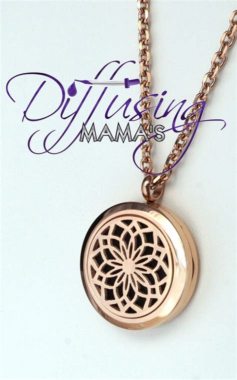lotus tattoo jewelry round rose gold lotus flower 25mm aromatherapy