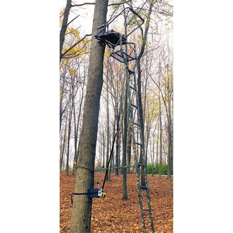 tree stand covers ladder tree stand 2nd kit 204359 tree stand