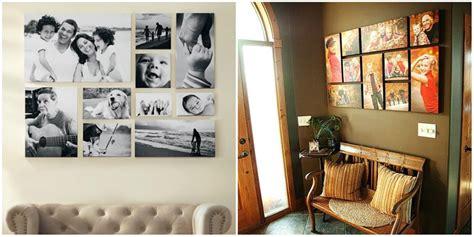 collage de fotos en cuadros para pared collages gratis formas novedosas para colgar tus cuadros fotos