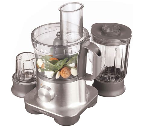 buy kenwood fpm260 multipro food processor silver free delivery currys