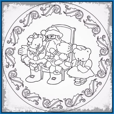 imagenes de navidad para colorear en el ordenador mandalas de navidad para colorear en el ordenador archivos